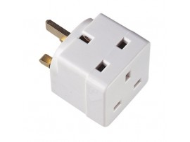 2 Way UK Mains Adapter
