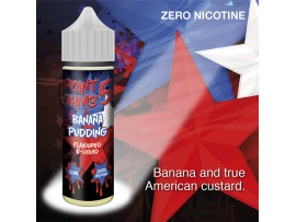 Banana Pudding Flavour MAX VG E-Liquid - Zero Nicotine - 50ML - Point Five Ohms - Short Fill
