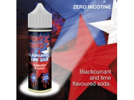 Blackcurrant Lime Soda Flavour MAX VG E-Liquid - Zero Nicotine - 50ML - Point Five Ohms - Short Fill