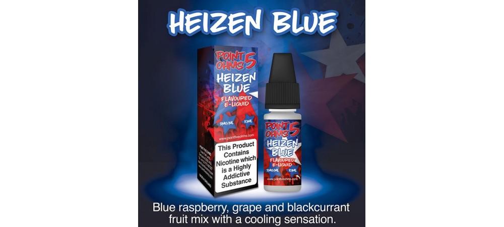 Heizen Blue Flavour E-Liquid 10ml - 50VG 50PG - Point Five Ohms