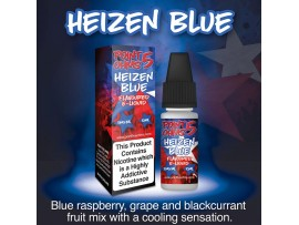 Heizen Blue Flavour E-Liquid 10ml - 50VG 50PG - Point Five Ohms