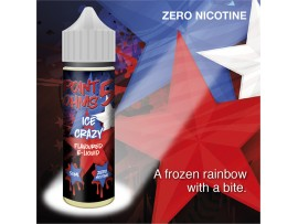 Ice Crazy Flavour MAX VG E-Liquid - Zero Nicotine - 50ML - Point Five Ohms - Short Fill