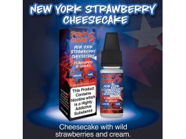 New York Strawberry Cheesecake Flavour 50VG 50PG - Point Five Ohms