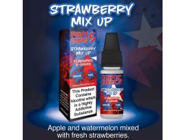 Strawberry Mix Up Flavour 50VG 50PG - Point Five Ohms - 6MG