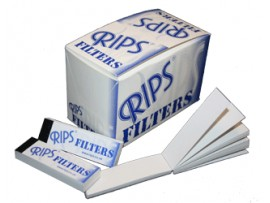 Rips Card Filters Tips / Roaches *40 Card Filters per Booklet* - 5 / 10 / Box of 36 Booklets