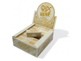 Rips Hemp King Size Rolling Paper *53mm Wide & 5M Long* - 3 / 6 / 12 / 24 Rolls