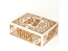 Rips Hemp Slim Rolling Paper *44mm wide & 5M Long* - 3 / 6 / 12 / Box of 24 Rolls