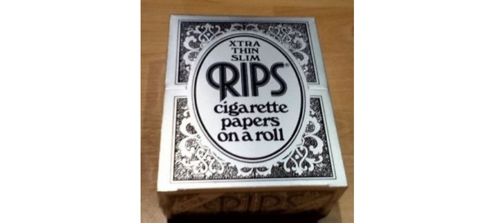 Rips Xtra Thin Slim Rolling Papers - 3 / 6 / 12 / 24 Rolls