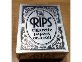 Rips Xtra Thin Slim Rolling Papers *Each roll approx 5M* - 3 / 6 / 12 / 24 Rolls