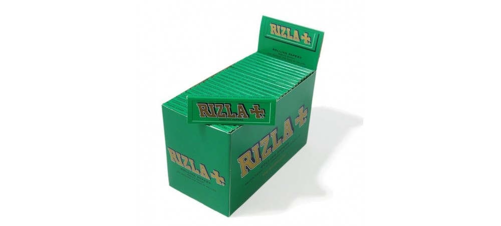Rizla Green Standard Rolling Paper - Pack of 100 Booklets