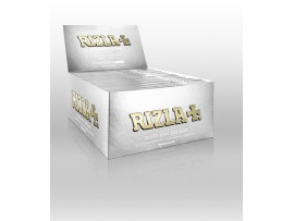 Rizla Silver King Size Slim Rolling Papers - Box of 50 Booklets