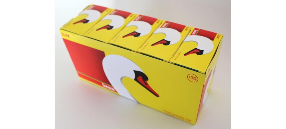Swan Slim Filter Tips *165 tips per pack* - 5 / 10 Packs