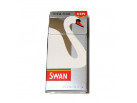 Swan Ultra Slim Pre Cut Filter tips *126 Tips Per Pack* - 5 / 10 / 20 Packs