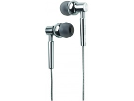 TDK EB750 T61815 Bass Boost Earphones - Chrome