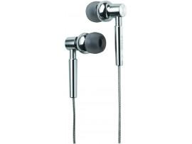 TDK EB750 T61815 Bass Boost Earphones - Chrome