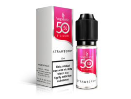 Strawberry 50/50 Universal E-Liquid 10ml - Vapouriz - 50VG 50PG - 3mg / 6mg / 12mg