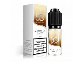 Vanilla Latte 50/50 Universal E-Liquid 10ml - Vapouriz 50VG 50PG - 3mg / 6mg / 12mg / 18mg