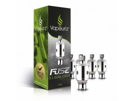 Vapouriz Fuse Plus-ohm Dual Coil 1.6ohms Replacement Coils - Pack of 5