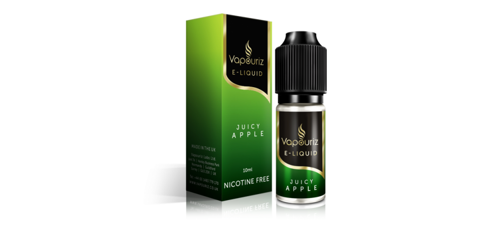 Juicy Apple Flavour (Mildly Sweet Apple) E-Liquid 10ml - Vapouriz - 6mg / 12mg / 18mg