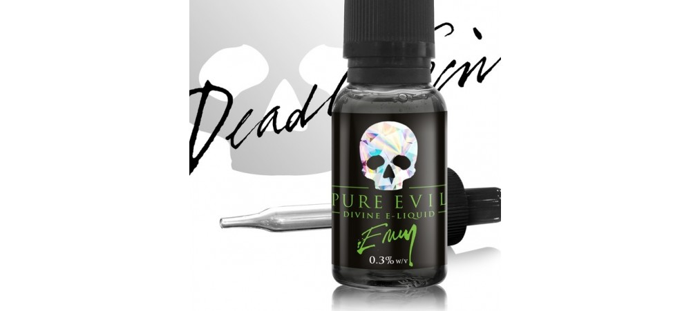 Envy (Apple & Cinnamon Pie) Pure Evil SUB OHM E Liquid 20ml Dripper WSL