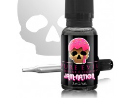 Jam-Nation Pure Evil SUB OHM E Liquid 20ml Dripper - WHILE STOCK LASTS - 6MG