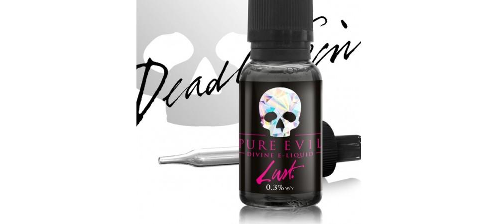 Lust (Strawberry Custard) Pure Evil SUB OHM E Liquid 20ml Dripper WSL