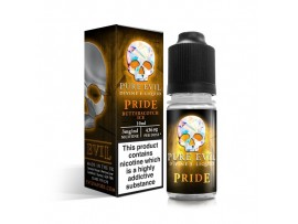 Pride (Butterscotch ICE) SUB OHM High VG E Liquid 10ml Bottle - Pure Evil