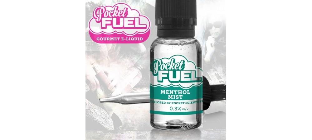 Menthol Mist Pocket Fuel Sub OHM MAX VG E Liquid 20ml dripper