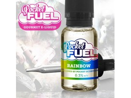 Rainbow Fruits Pocket Fuel SUB OHM MAX VG E Liquid 20ml Dripper
