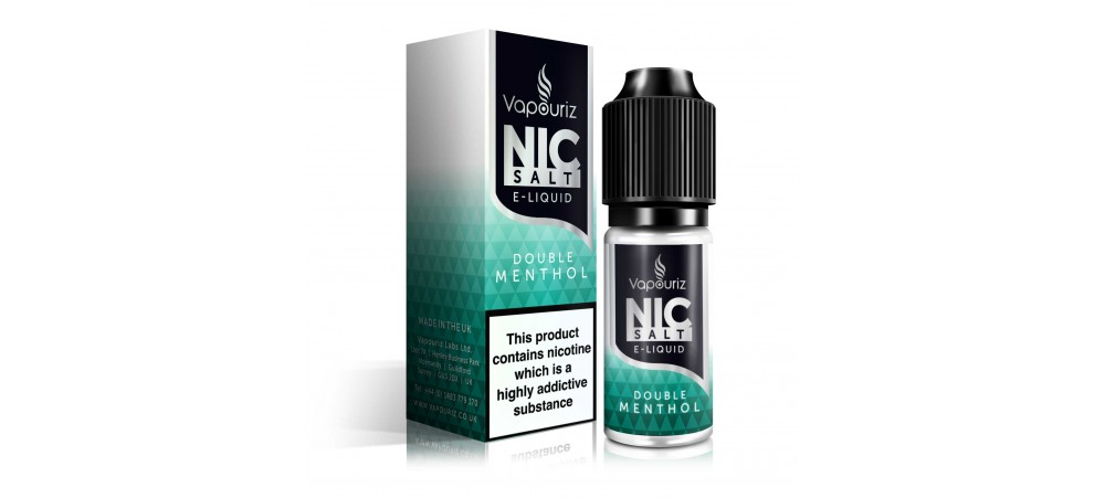 Vapouriz Double Menthol Nic Salts E-Liquid
