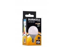 Duracell 3.8W E14 Mini Globe 250 Lum 2700k WW Frosted Box