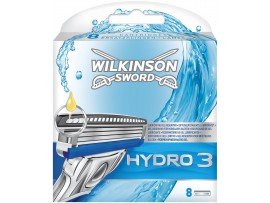 Hydro 3 Razor Blades by Wilkinson Sword  - Pack of 4 / 8 Cartridges