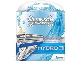 Hydro 3 Razor Blades by Wilkinson Sword  - Pack of 4 / 8 Cartridges