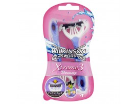Xtreme 3 Beauty Disposible Razors by Wilkinson Sword - Pack of 4