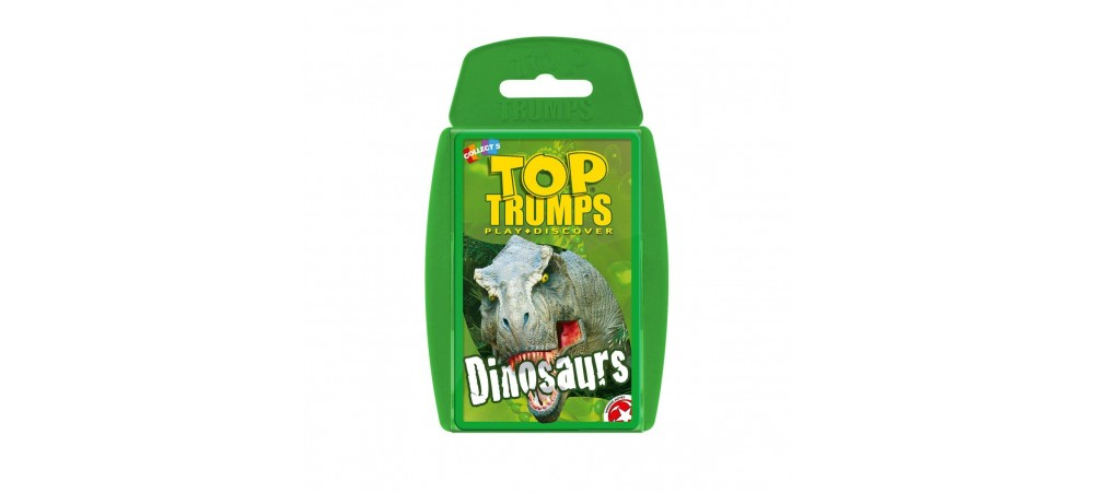 Dinosaurs 000161 Classic Top Trumps