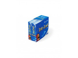 Zig-Zag Blue King Size Slim Rolling Papers - 5 / 10 / 25 / Box of 50 Booklets