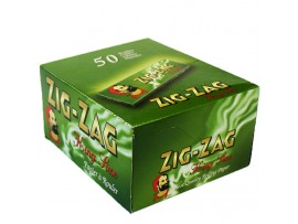 Zig-Zag Green King Size Rolling Papers - 5 / 10 / 25 / Box of 50 Booklets