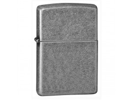 Zippo 121FB Classic Windproof Lighter - Antique Silver Plate