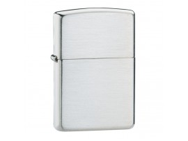 Zippo 13 Classic Windproof Lighter - Brushed Sterling Silver