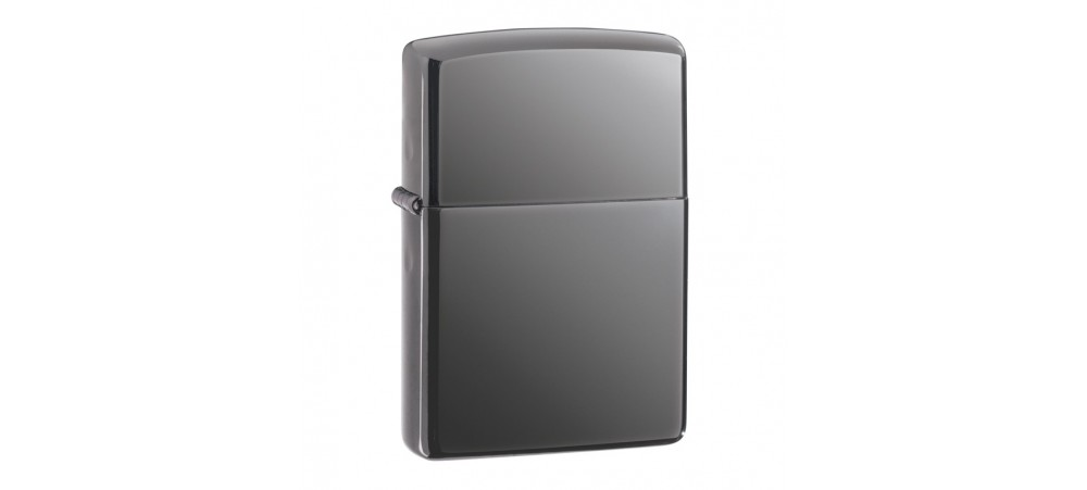 Zippo Classic Windproof Lighter - Black Ice - 150