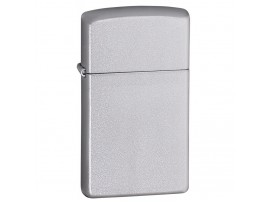 Zippo 1605 Slim Windproof Lighter - Satin Chrome