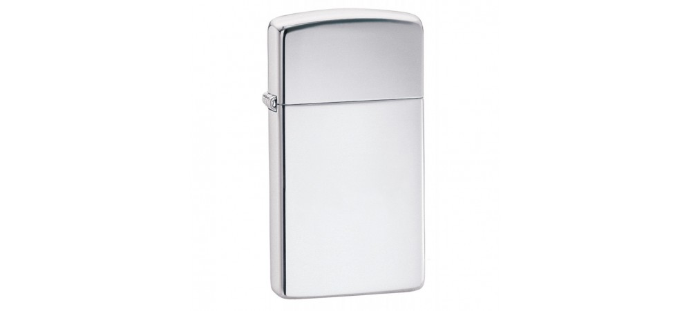 Zippo Armor Slim Windproof Lighter - High Polished Chrome - 1606