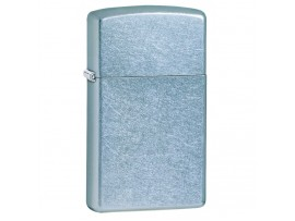 Zippo Slim Windproof Lighter - Street Chrome - 1607
