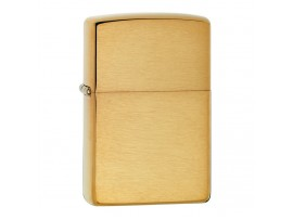 Zippo 168 Armor Windproof Lighter - Brushed Brass