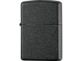 Zippo 236 Classic Windproof Lighter - Black Crackle Finish