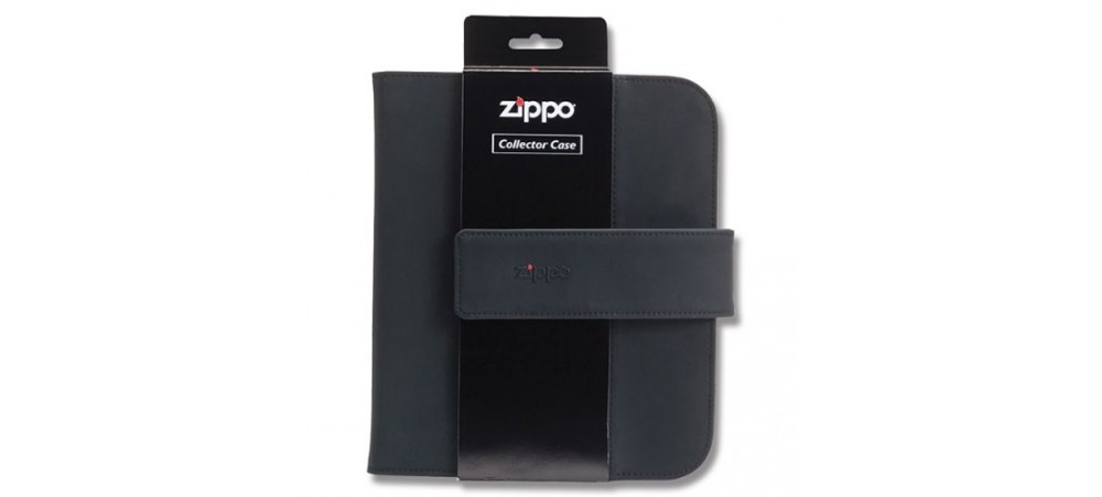 Zippo 142653 Collectors Case Black Holds Eight Lighters