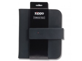 Zippo Collectors Case Black Holds Eight Lighters  - 142653