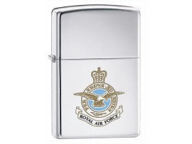 Zippo 250RAF Royal Air Force Windproof Lighter - High Polished Chrome