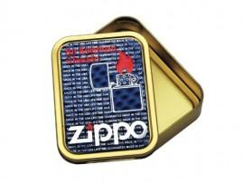 2oz Tobacco Tin - Lid Colour will vary - Zippo
