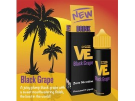 Black Grape VE Drink Flavoured E-Liquid KA - MAX VG - SUB OHM - Nicotine Free - 50ml Shortfill